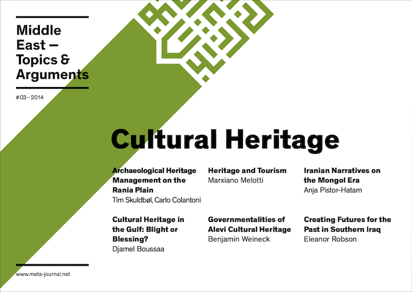Ansehen Bd. 3 (2014): Cultural Heritage